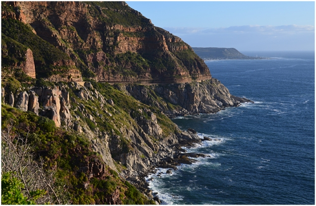 Chapman's Peak Drive, heading back towards Cape Town. This is looking south.