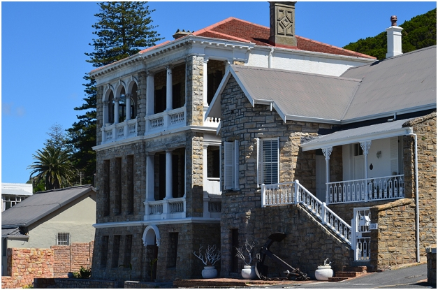 Muizenberg has some wonderful old houses, like this one on Beach Road.