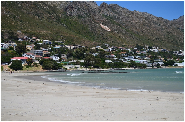 The main beach, Gordon's Bay.